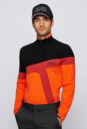 BOSS Golf Sweaters Knitwear