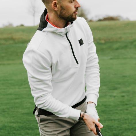 adidas Golf Jumper - Adicross Hoodie - White SS20