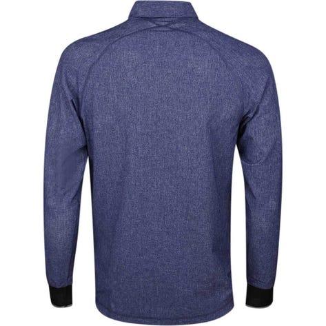 adidas Golf Shirt - Adicross Oxford Button Up - Dark Blue AW19
