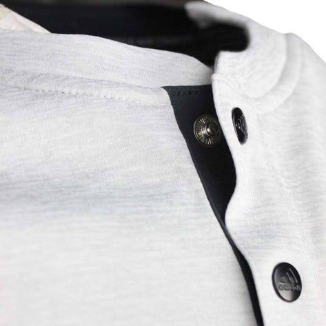 adidas Golf Shirt - Adicross No Show Henley - Grey Two AW19