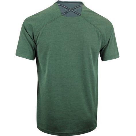 adidas Golf Shirt - Adicross No Show Henley - Legend Earth AW19