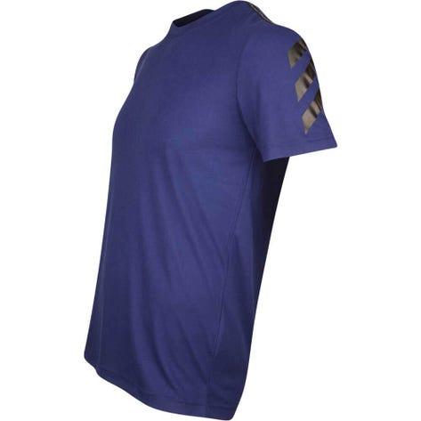adidas Golf T-Shirt - Adicross Big Logo Tee - Dark Blue AW19