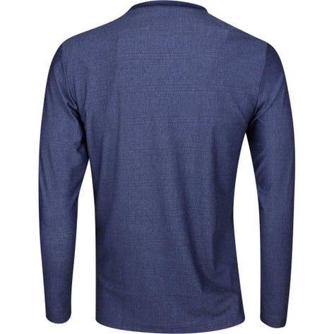 adidas Golf Shirt - Adicross No Show LS Henley - Dark Blue AW19
