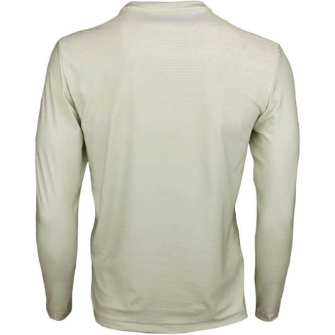 adidas Golf Shirt - Adicross No Show LS Henley - Raw White AW19