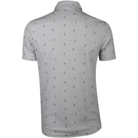 Adidas Golf Shirt - Adicross Pique Polo - Grey Two SS19