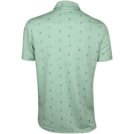Adidas Golf Shirt - Adicross Pique Polo - Ash Green SS19