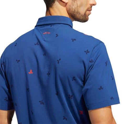 adidas Golf Shirt - adiPure Novelty Polo - Real Blue SS20
