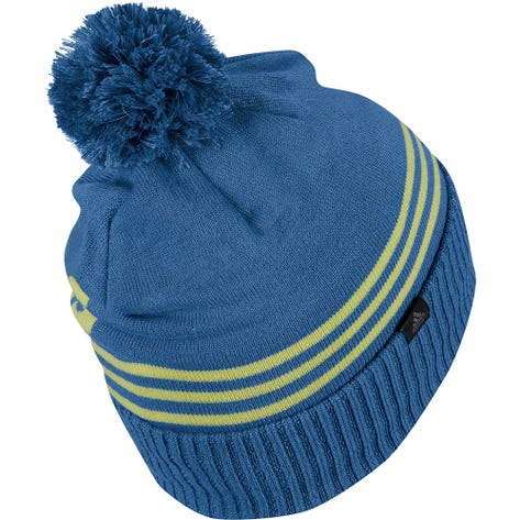 adidas Golf Hat - Font Pom Beanie - Focus Blue AW21