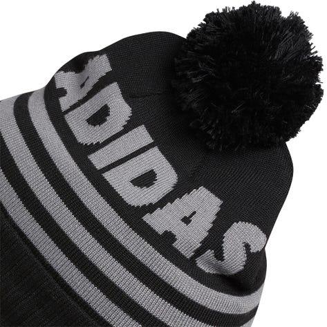 adidas Golf Hat - Font Pom Beanie - Black AW21
