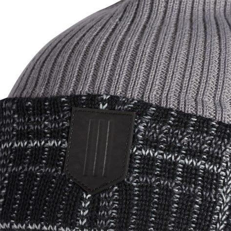 adidas Golf Hat - Novelty Pom Beanie - Grey Three AW21