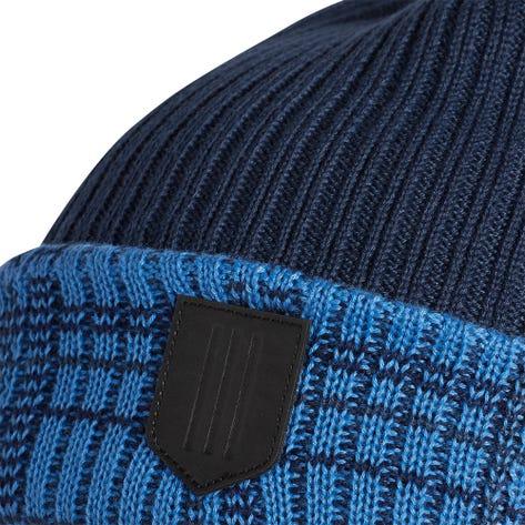 adidas Golf Hat - Novelty Pom Beanie - Crew Navy AW21