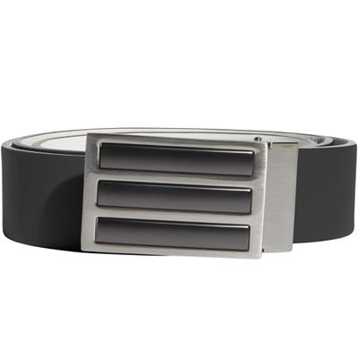 adidas Golf Belt - Reversible 3 Stripe Tour Belt - Black SS21