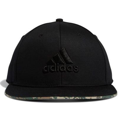 adidas Golf Cap - TP Flatbrim Snapback - Black SS21