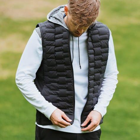 adidas Golf Gilet - Frostguard Vest - Black AW21