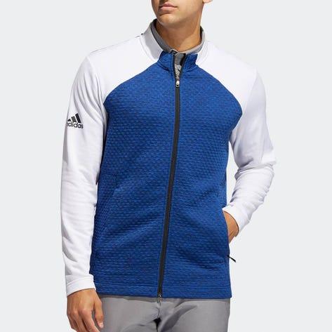 adidas Golf Jacket - Cold.RDY Full Zip - Royal Blue AW20