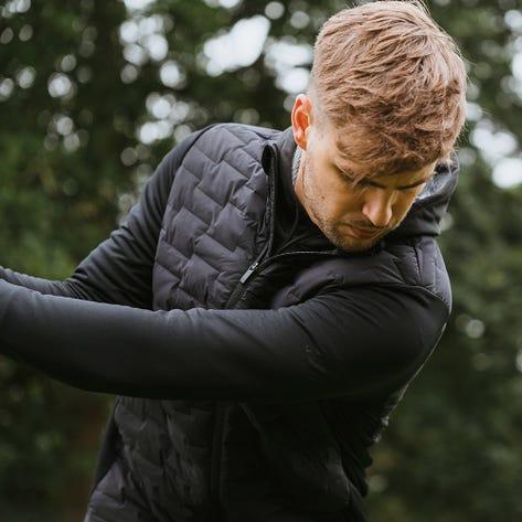 adidas Golf Jacket - Frostguard FZ - Black AW21