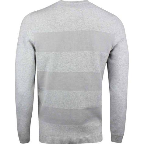 Adidas Golf Jumper - Blended Crew Sweater - Grey Heather SS19