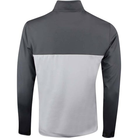 Adidas Golf Pullover - 3 Stripes Competition QZ - Grey Five SS19