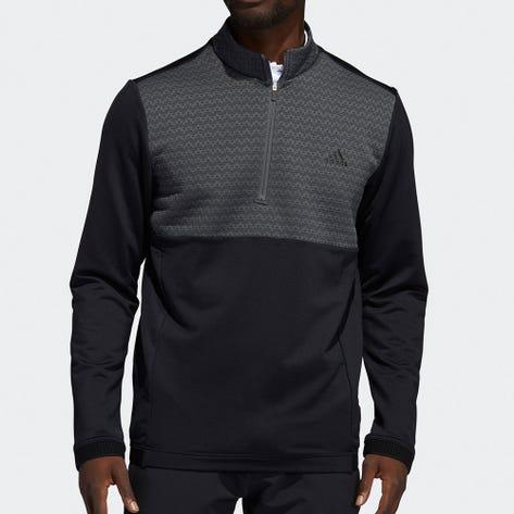 adidas Golf Pullover - Cold.RDY QZ - Black AW21