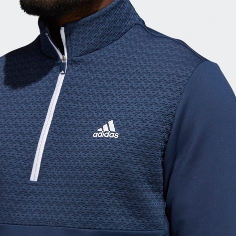adidas Golf Pullover - Cold.RDY QZ - Crew Navy AW21