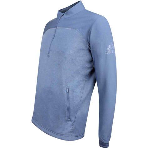 Adidas Golf Pullover - Go-To Quarter Zip - Tech Ink AW18