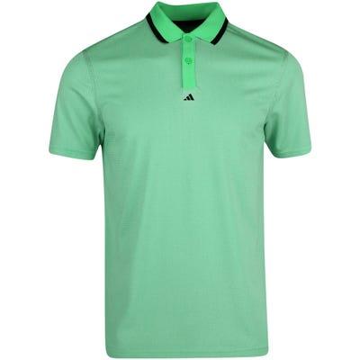adidas Golf Shirt - EQT Primegreen Polo - Semi Screaming Green AW21