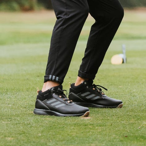 adidas Golf Shoes - S2G Mid Top - Black 2021