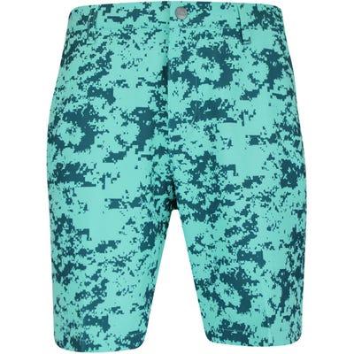 adidas Golf Shorts - Ultimate Camo Short - Wild Teal SS21