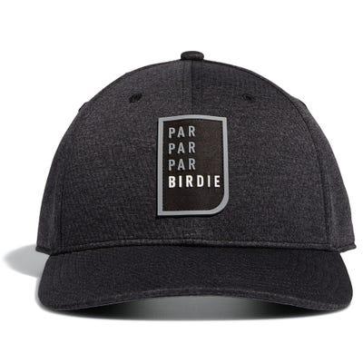 adidas Golf Cap - Par Birdie Snapback - Black Heather AW21
