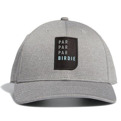 adidas Golf Cap - Par Birdie Snapback - Medium Grey AW21