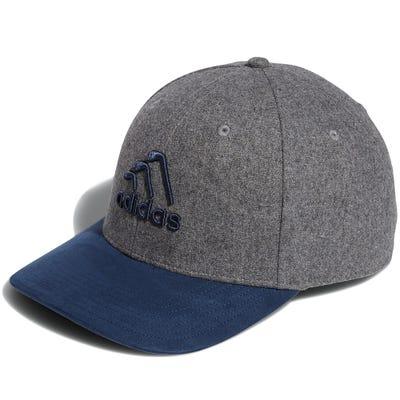 adidas Golf Cap - 3 Stripe Club Snapback - Grey Three AW21