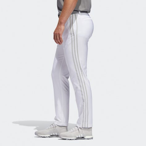 adidas Golf Trousers - Ultimate Side Stripe Pant - White SS20