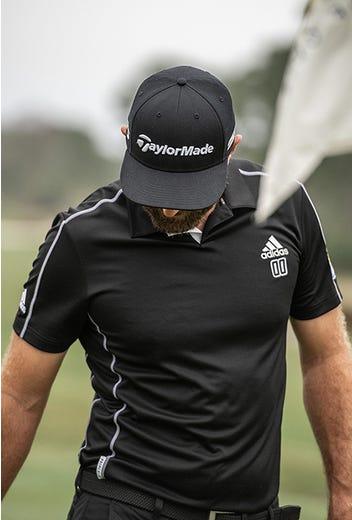 adidas Golf - Primeblue 00 Golf Shirt - Dustin Johnson 2021