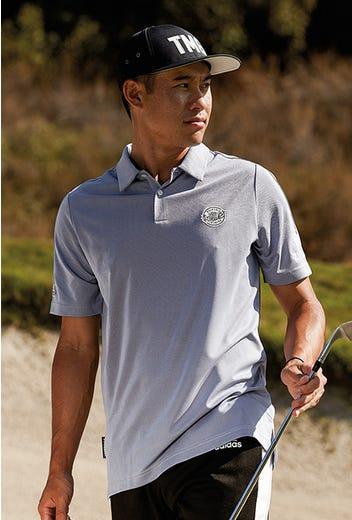 adidas Golf - Primeblue Melange Shirts - Collin Morikawa 2021