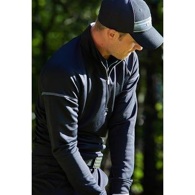 adidas Golf - Black EQT Quarter Zip Pullover - Spring 2021