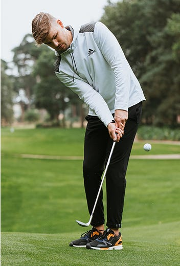 adidas Golf - White Tour Logo Hoodie - GP Winter Campaign 2021