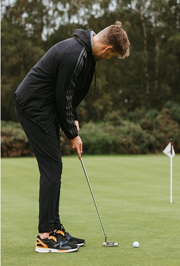 adidas Golf - Black adicross Jogger Pant - GP Winter Campaign 2021