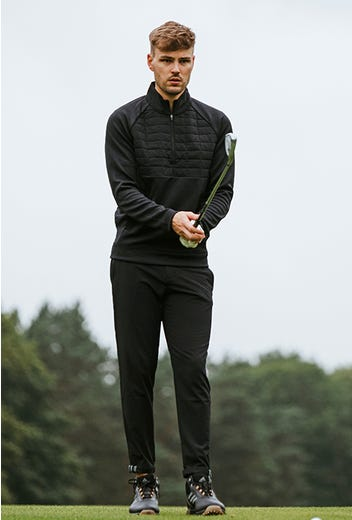 adidas Golf - Padded Mid Layer Pullover - GP Winter Campaign 2021