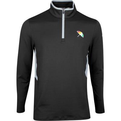 PUMA Golf Pullover - Arnold Palmer Umbrella QZ - Black SS21