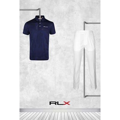 Billy Horschel - Masters Thursday - Navy Camo RLX Golf Shirt 2021