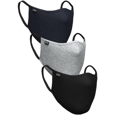 BOSS Face Covering - Three Pack Mask - Multi Colour SP21