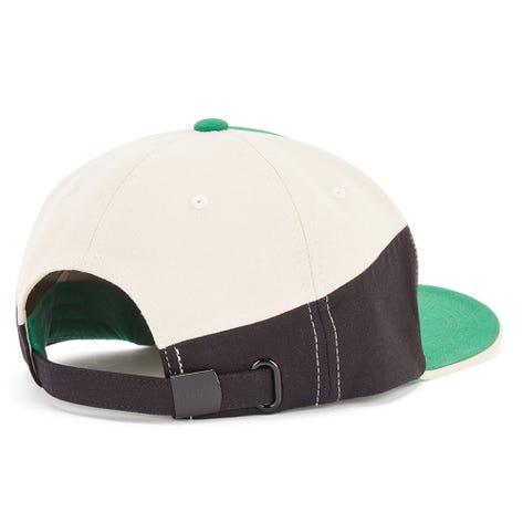 BOSS Golf Cap - Colour Block Curved Logo - Verdant Green FA21