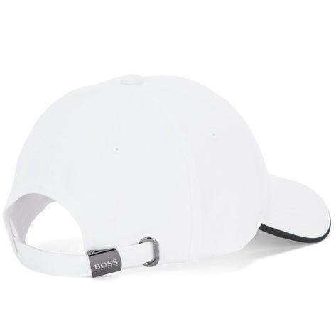 BOSS Golf Cap - X Curved Logo - Training White FA21