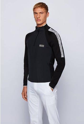 BOSS Golf - Pro Logo Hybrid Wind Sweater - Zalogo PS21