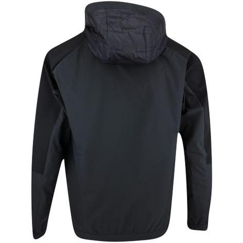 BOSS Golf Pullover - Liu Hybrid Hoodie - Black FA21