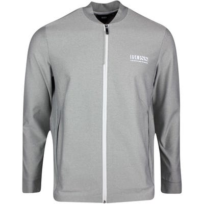 BOSS Golf Jacket - Sariq - Grey Melange SP21