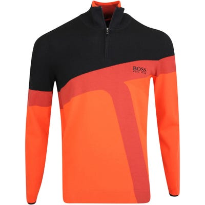 BOSS Golf Jumper - Zetto Pro - Orange FA21