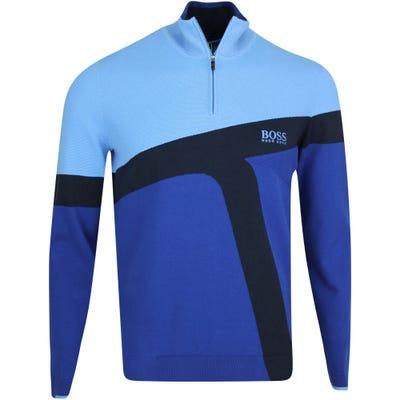 BOSS Golf Jumper - Zetto Pro - Limoges Blue FA21