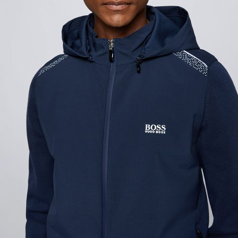 BOSS Golf Jacket - Maxeo Hybrid Hoodie - Nightwatch FA21