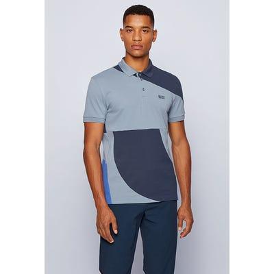 BOSS Golf - Regular Fit Colour Block Shirt - Paddy 3 PS21